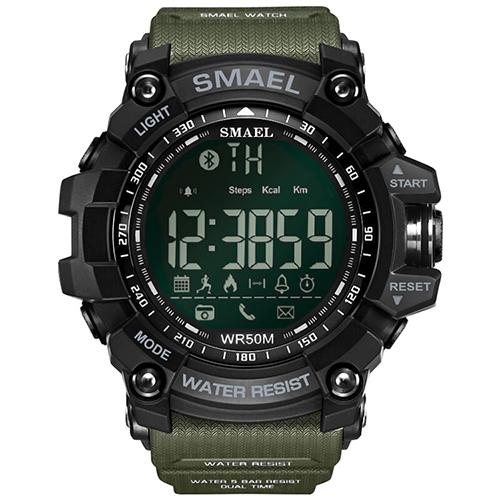 Hodinky SMAEL EXTRA-Zelená/Černá
