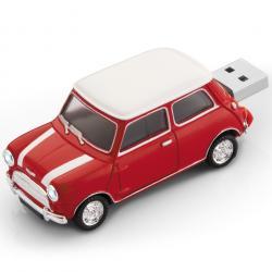 Mini Cooper 8GB USB - Červená